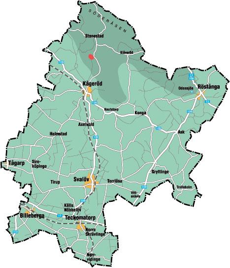 svalöv karta Svalövs Kommun svalöv karta